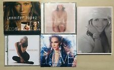 JENNIFER LOPEZ Lot 5 CD On the 6 The Reel Me DVD Rebirth Love deluxe limited
