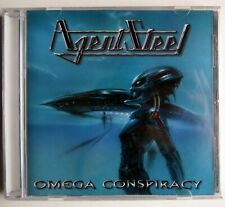 AGENT STEEL - OMEGA CONSPIRACY - CD 1999 / 2011 - IMPORTED - NEW SEALED