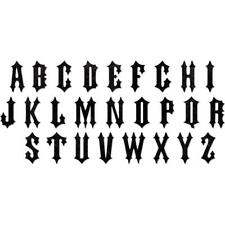 "NEW Tim Holtz Alterations ""GOTHIC ALPHABET"" Sizzix BIGZ XL Die"