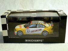 Minichamps 400052432: BMW 320i, WTCC 2005, Wiechers-Sport #32 M. Hennerici, NEU