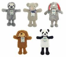 Childrens Hot Water Bottle Plush Cover Sloth Rabbit Ted Panda Animal Gift Kids