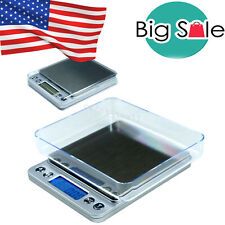 New Brand Digital Jewelry Precision Scale w/ Piece Counting ACCT-500 .01 g US CE