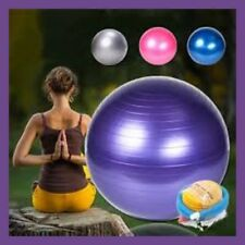 MaXx 65cm Anti Burst Fitness, Exercise and Yoga Gym Ball with INFLATOR PUMP
