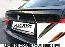 LAME LEVRE COFFRE SPOILER BECQUET AILERON HAYON pour BMW E90 SERIE 3 2005-2011 M