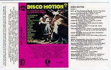 DISCO MOTION  - VARIOUS ARTISTS   *RARE CASSETTE TAPE*