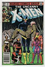 New listing Uncanny X-Men 167 Marvel 1983 Vf Nm Tattooz Newsstand Wolverine Cyclops Brood