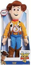 BRAND NEW TOY STORY 4 TALKING PLUSH WOODY DOLL TOY