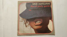 Disco vinile 45 giri DAVID Mc WILLIAMS Days of pearly spencer / Harlem lady