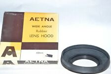 Aetna 49 mm NEW Wide Angle Collapsible Screw-In Hood w Inside Filter Thrds(H-10)