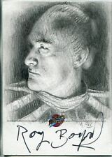 Blakes 7 Series 1 Autographed Sketch Card By Andy Fry (Roy Boyd)