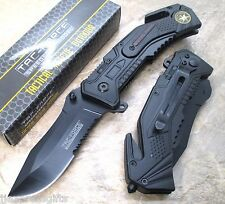 TAC-FORCE Special Force Medallion Tactical Survival Rescue Pocket Knife TF-688SF