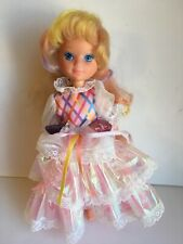 Vintage TCFC Blond Lady Lovely Locks Doll with Original Dress Great Hair X
