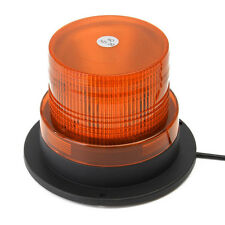 Car Truck Vehicle Amber Yellow Emergency Magnetic Warning Beacon Strobe Light