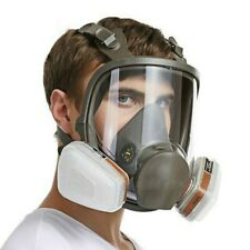 Respirator Gas Mask 15 In 1 Full Face Spraying Painting Mask For 6800 Facepiece