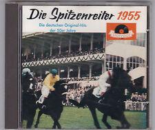 DIE SPITZENREITER 1955 CD ALBUM POLYDOR VARIOUS ARTISTS 18 TITEL