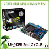 CARTE MERE ASUS M5A78L-M LX3 USB3 mATX Motherboard for AMD AM3+ CPUs