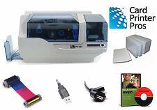 Zebra P330i Badge PVC ID Card Printer Package (60-day Warranty)