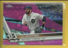 J. D. Martinez 2017 Topps Chrome PINK Refractors Card # 63 Diamondbacks Baseball