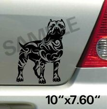 Pitbull Tribal Vinyl Decal Sticker Car Truck Window or Body Stickers, Decals 002