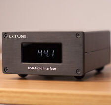 L.K.S Audio USB-100 Amanero combo384 USB Audio DAC Interface Native DSD 384KHZ