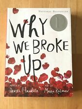 Why We Broke Up by Daniel Handler (2013, Paperback) Like New