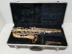 Selmer Bundy II Alto Saxophone w/Case & Mouthpiece