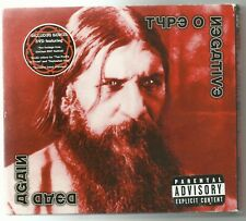 TYPE O NEGATIVE (USA) : DEAD AGAIN Double CD / DVD STEAMHAMMER 2008 PRESS