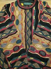 Tundra Canada Mercerized Cotton Sweater-Cosby-Coogi Style Large