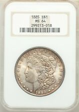 1885 Philadelphia  Morgan Dollar NGC MS 64