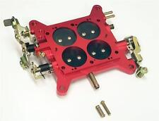 High Performance 850 Carburetor Base Plate Holley Quickfuel Double Pumpers RED