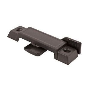 Prime-Line Products F 2589 Window Sash Lock, Cam Action, 3/8-inch Tongue, Black