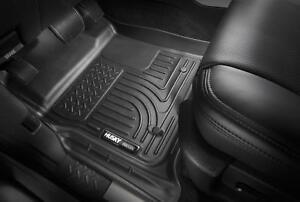 Husky Liners Black Car Floor Mat Rubber Carpet For Hyundai 2013-2017 Santa Fe