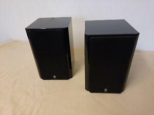 Yamaha NX-E700 Bookshelf Speakers In Gloss Black