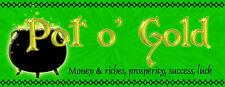 POT O GOLD PERFUME OIL PURE ESSENTIAL OILS MONEY LUCK ABUNDANCE PROSPERITY