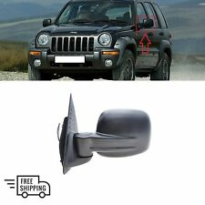 JEEP CHEROKEE/LIBERTY 2002 - 2008 NEW WING MIRROR ELECTRIC LEFT N/S DRIVER LHD