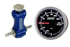 Turbosmart 52mm Boost Gauge PSI y Turbosmart Azul Controlador de refuerzo de manual