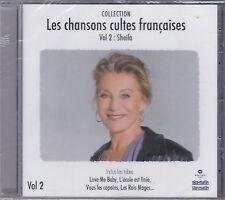 RARE CD 19T SHEILA LES CHANSONS CULTES FRANÇAISES BEST 2008 NICE- MATIN TBE