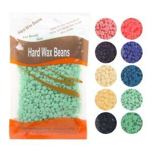 No Strip Depilatory Hard Wax Beans Body Bikini Waxing Hair Removal Beans Unisex