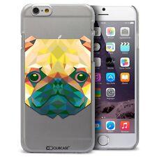 Coque Housse Etui Pour iPhone 6 Plus 5.5 Polygon Animal Rigide Fin  Chien