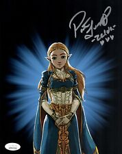 PATRICIA SUMMERSET Signed ZELDA Breath of the Wild 8x10 Photo Autograph JSA COA
