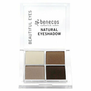 Benecos Natural Quattro Eyeshadow (Coffee & Cream)