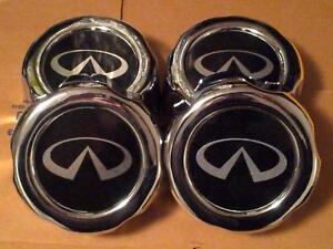 4X Infiniti QX4 1997-2002 Wheel Chrome Hub Center Caps Hubcaps 4031589P15 NEW