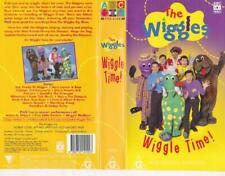 THE WIGGLES WIGGLE TIME  VHS VIDEO PAL~ A RARE FIND
