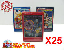 25x INTELLIVISION TALL BOX GAME CLEAR PROTECTIVE BOX PROTECTOR SLEEVE CASE