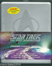 Star Trek The Next Generation Stagione 1 (1987) Cofanetto Box 7 DVD NUOVO SIGILL