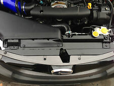 Custom Radiator shroud for SUBARU WRX STI impreza matte BLACK texture 08-13