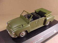 IST 1/43 Diecast GDR 1957 Wartburg 311-4 Kubel Open Top, Olive Green  #IST 165