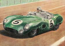 Roy Salvadori at the wheel of his Aston Martin, Le Mans 1959 Poster