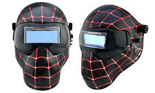 Save Phace Black Spiderman Welding Helmet Grinding Mask Auto Darkening Filter