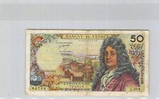 France 50 Francs Racine 3.5.1973 L.219 n° 0546060728 Pick 148c